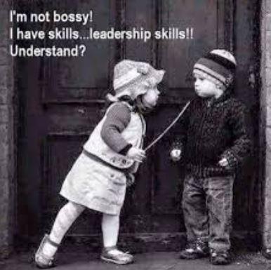 I'm not bossy